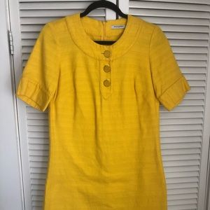 Yellow Banana Republic Dress